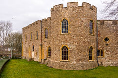 Stary kasztel w Somerset Obraz Royalty Free