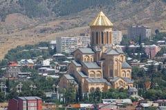 stary katedralny ortodoksyjny Zdjęcie Royalty Free