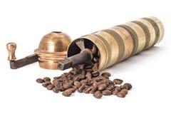 stary kawowy młyn Zdjęcie Royalty Free