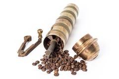stary kawowy młyn Obrazy Royalty Free