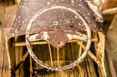 Stary kierownicy zabawki samochód Zdjęcie Stock