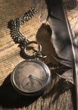 stary kieszeniowy zegarek Obraz Stock