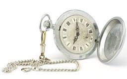 stary kieszeniowy zegarek Zdjęcia Royalty Free
