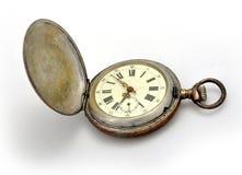 stary kieszeniowy zegarek Zdjęcia Stock