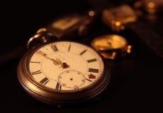 stary kieszeniowy zegarek zdjęcie stock