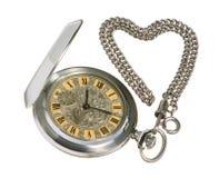 stary kieszonkowy zegarek Fotografia Royalty Free