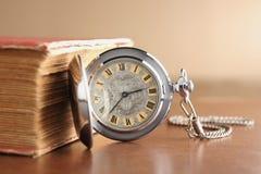 stary kieszonkowy zegarek Zdjęcie Royalty Free