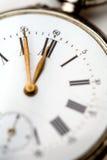 stary kieszonkowy zegarek Obrazy Royalty Free