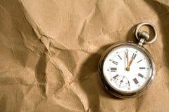 stary kieszonkowy zegarek zdjęcia stock