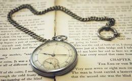 stary kieszonkowy zegarek Obraz Royalty Free