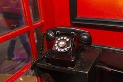 Stary klasyczny telefon Obrazy Royalty Free
