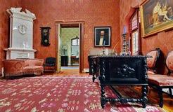 Stary klasyczny wnętrze dom obrazy stock