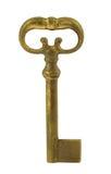 Stary klucz -2 obrazy royalty free