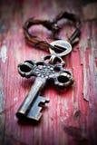Stary klucz Fotografia Royalty Free