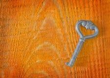 Stary klucz Obrazy Royalty Free