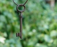 Stary klucz obraz royalty free
