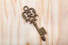 Stary klucz Obraz Stock