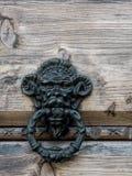 stary knocker fotografia stock
