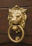 stary knocker czeskiego drzwi Zdjęcia Royalty Free