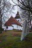Stary kościół od 1200s wokoło obraz royalty free