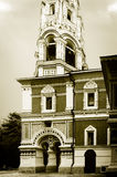 Stary kościół chrześcijański. Obraz Royalty Free