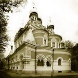 Stary kościół chrześcijański. Zdjęcia Royalty Free