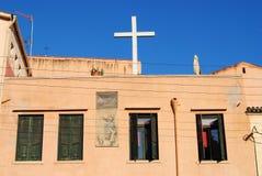 Stary kościół przy Chania, Crete Obrazy Royalty Free