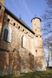 stary kościół twierdzy Obraz Royalty Free