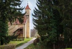Stary kościół, Węgry Obraz Royalty Free