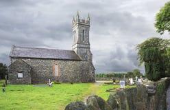 Stary kościół w Aghadoe terenie Fotografia Stock