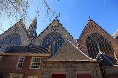Stary kościół w Amsterdam, holandie Obraz Royalty Free