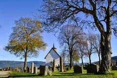 Stary kościół w Bø w Telemark Obraz Stock