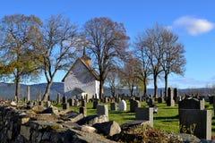 Stary kościół w Bø w Telemark Zdjęcie Royalty Free