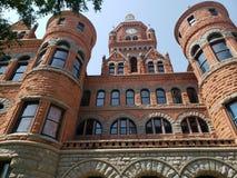 Stary kościół w w centrum Dallas Texas zdjęcia royalty free