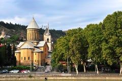Stary kościół w centrum miasta Tbilisi Obraz Stock