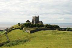 Stary kościół w Ciężkim Zdjęcia Royalty Free