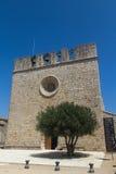 Stary kościół w Hiszpania zdjęcia royalty free