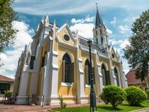 Stary kościół w parku Fotografia Stock