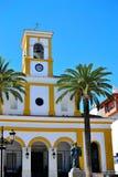 stary kościół w San Perdo De Alcantara Zdjęcia Royalty Free