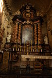 Stary kościół w Torino obraz stock