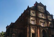 Stary Kościelny Goa obraz royalty free