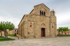 Stary kościelny San Simplicio w Olbia Zdjęcie Royalty Free