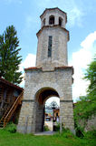 Stary kościelny wierza Koprivshtitsa zdjęcia royalty free