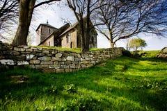 stary kościoła kamienia obrazy royalty free