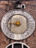 stary kościelny clack w murano burano Venice Fotografia Royalty Free