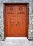 Stary Kościelny Drzwi Fotografia Stock
