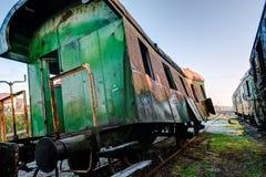 Stary kolejowy furgon Obrazy Royalty Free