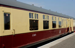 Stary kolejowy kareciany szczegół Fotografia Royalty Free