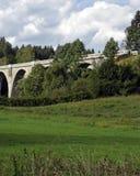 Stary kolejowy most Obrazy Royalty Free