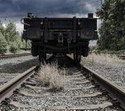 Stary kolejowy teren Fotografia Stock